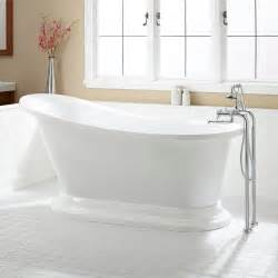 67 quot acrylic slipper tub bathtubs bathroom