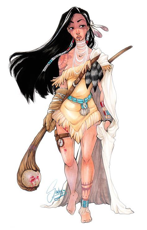 wind up doll by anime sketcher1 on deviantart disney s pocahontas reimagined as warrior princess