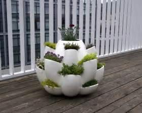 Design Planters Balcony Herb Garden Container Gardening Pinterest