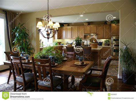 pictures of beautiful dining rooms beautiful kitchen and dining room stock image image 9233637