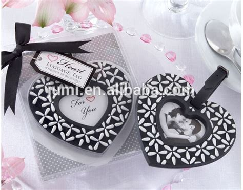 Wedding Giveaway Tags - quot follow your heart quot luggage tag wedding giveaways buy giveaways for weddings wedding