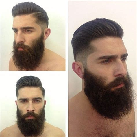Bearded Mens Hairstyles by Chris Millington Awesome Hairstyle Beards