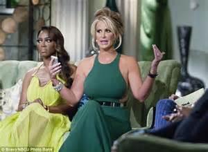Yolanda Emboss Green New yolanda foster wears stella mccartney gown sported by real