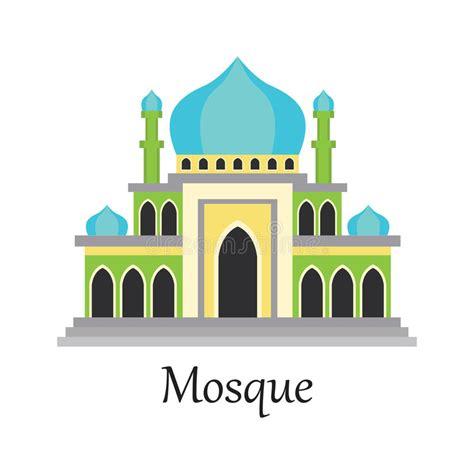 design masjid vector free download islamic mosque masjid for muslim pray icon stock vector
