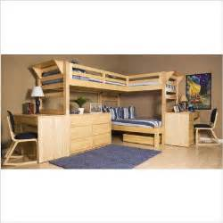 Three Person Bunk Bed 3 Person Loft Bed A Room For 3