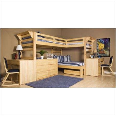 three person bunk bed 3 person loft bed a room for 3 pinterest