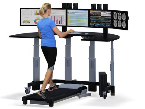 Walking Computer Desk Treadmill Desk Stand Up Desk With Treadmill And Person Authors Billboard Pinterest
