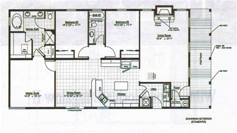 Single Floor Home Plans by Bungalow Home Design Floor Plans Single Storey Bungalow