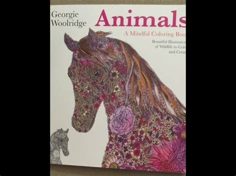 Animals A Mindful Coloring Book