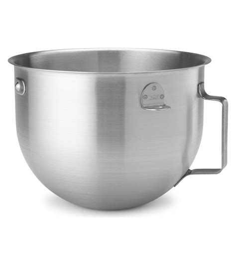 kitchenaid nsf certified brushed stainless steel mixing