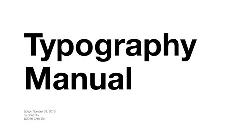 typography guidelines typography tutorial 10 to help you rule type