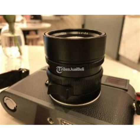 Kamera Merk Leica kamera mewah leica m e with lens 50 summilux asph voigtlander 21 ultron seken istimewa siap