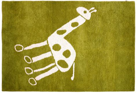 Giraffe Rug For Nursery by Giraffe Room Accessories
