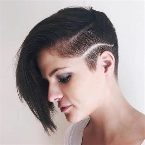 pixie one side shaved 20 bold and daring takes on the shaved pixie cut