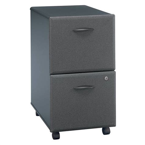 bush office furniture series a bush business series a 2dwr mobile pedestal in slate wc84852p
