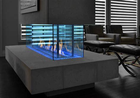 the davinci custom linear island gas fireplace is an ideal