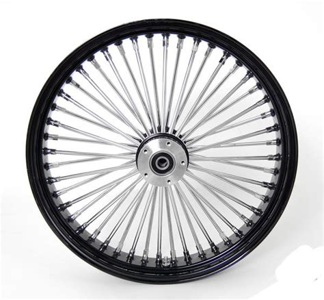 23 x3 5 quot black mammoth 48 spokes front wheel for