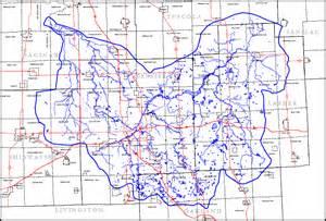 flint river map gc281ya flint river watershed earthcache in michigan