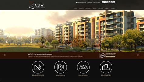 architectural design templates 20 architecture portfolio templates for architect websites