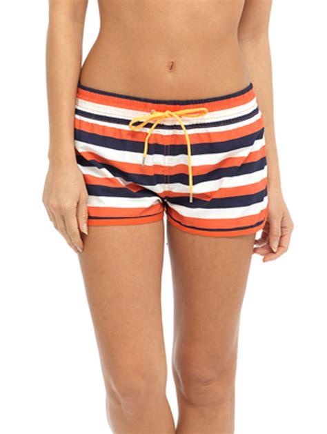 womens high waisted shorts swimsuit womens high waisted beach shorts elasticated summer swim