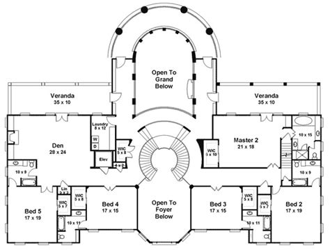 stairs floor plan majestic double staircase 12225jl architectural