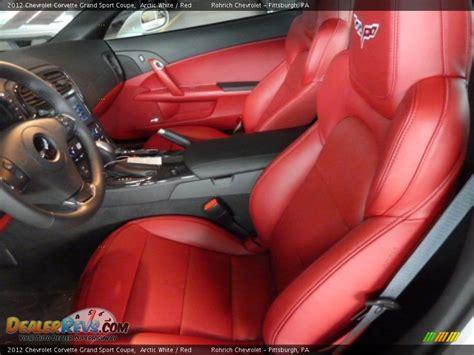 2012 Corvette Interior by Interior 2012 Chevrolet Corvette Grand Sport Coupe