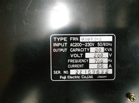 fuji repair jess repair fuji fuji frenic 5000h2 frn030h2 2 in
