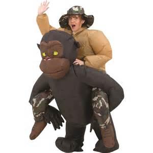 Wwe Bedroom Decor inflatable riding gorilla halloween costume the green head