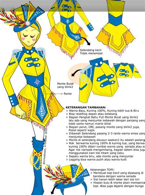 desain baju drumband kreasi bundae qilla desain baju drumband edisi 2012