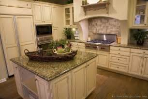 Pictures Of Kitchens Traditional Off White Antique » Ideas Home Design
