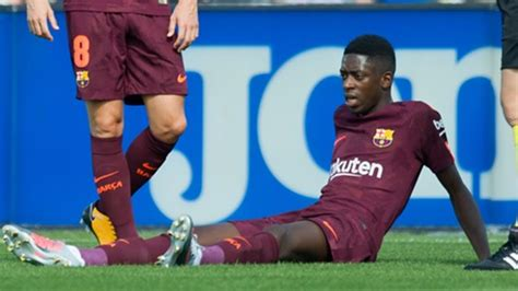 ousmane dembele injury report barca s dembele suffers another hamstring injury premium