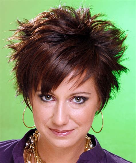 Short Straight Alternative Hairstyle (Chocolate)