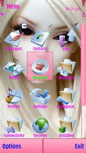 download cute barbie toy themes cell phone barbie