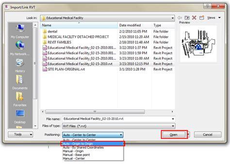 html tutorial lesson 2 revit lesson 2 revit tutorials insert tab in revit link
