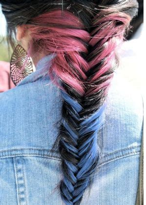 pictures of blue hair braided into brown hair 388 best images about dreams of summer on pinterest