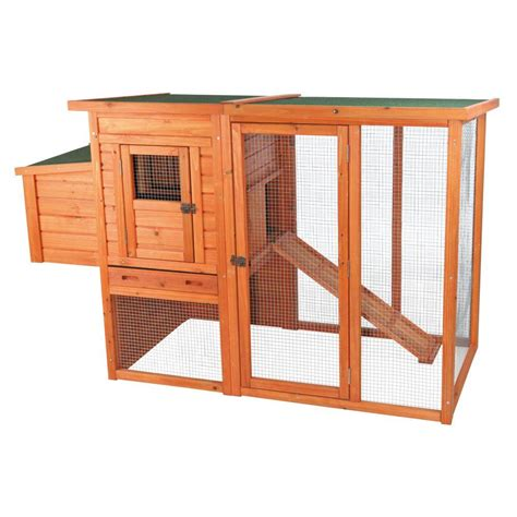 coop casa service trixie chicken coop with outdoor run 55961 the home depot