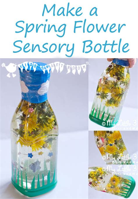 how to make sensory bottles for quiet play time