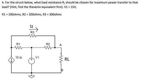 load resistor maximum power transfer load resistor maximum power transfer 28 images resistors help compare my results to the