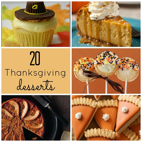 the upstairs crafter good ideas thanksgiving desserts