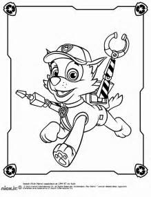 paw patrol coloring sheets rocky paw patrol coloring pages az coloring pages