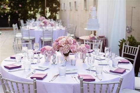 Top 25 ideas about Purple Wedding Tables on Pinterest