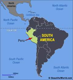 peru map south america map of peru facts information beautiful world travel