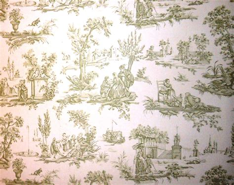 wallpaper design english toile wallcovering welcome home by frank e page