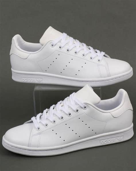 Sepatu Adidas Stanssmith White adidas stan smith trainers white originals shoes leather mens