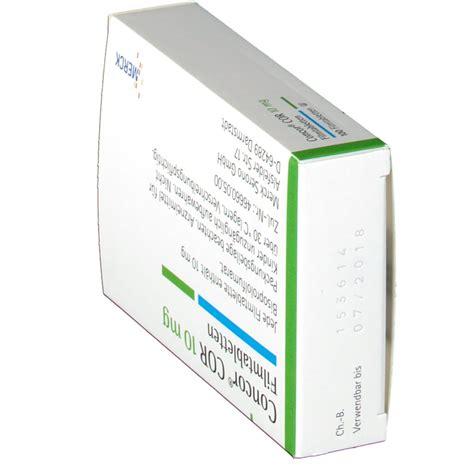 Concor 10 Mg concor cor 10 mg filmtabletten shop apotheke