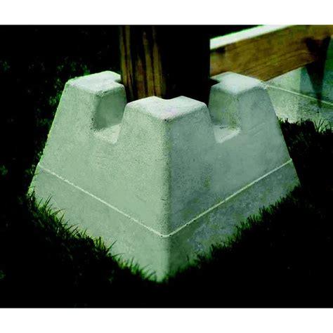 handi block lightweight concrete deck block lowes