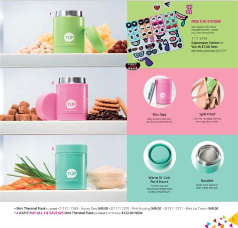 Tupperware Outdoor Cooler 8 7l mini thermal flask