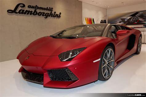 Lamborghini Ad Lamborghini Ad Personam In Geneva 2015 Ad Personam