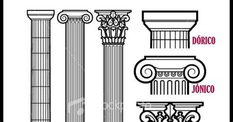 imagenes html columnas historia antigua luiselli columnas estilos griegas del