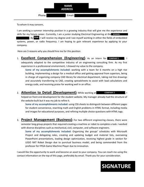 cover letter engineering reddit unorthodox cover letter engineering student resumes